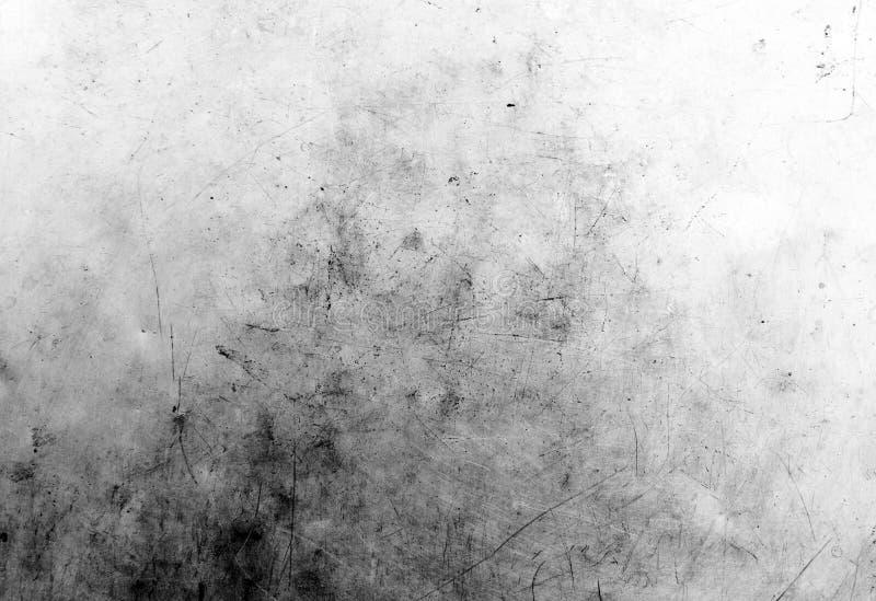难看的东西黑白困厄纹理 抓痕纹理 肮脏的纹理 r 库存照片