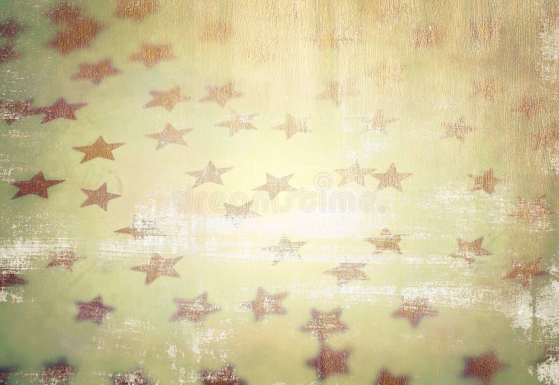 难看的东西满天星斗的背景 图库摄影