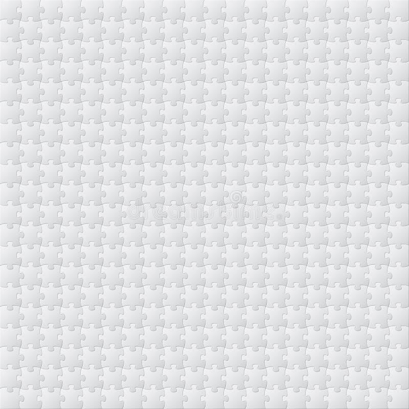 难题空白的模板传染媒介 皇族释放例证