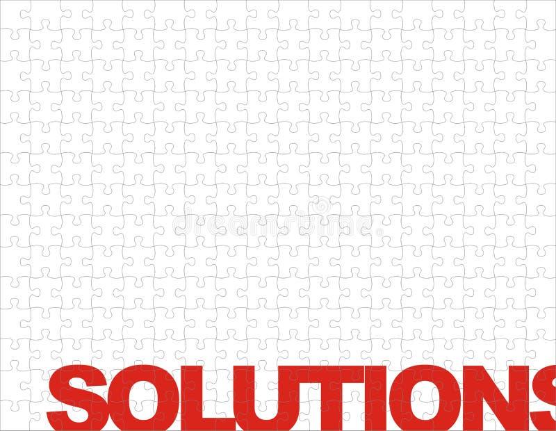难题解决方法 向量例证