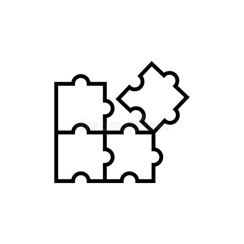 难题象图形设计模板传染媒介 皇族释放例证