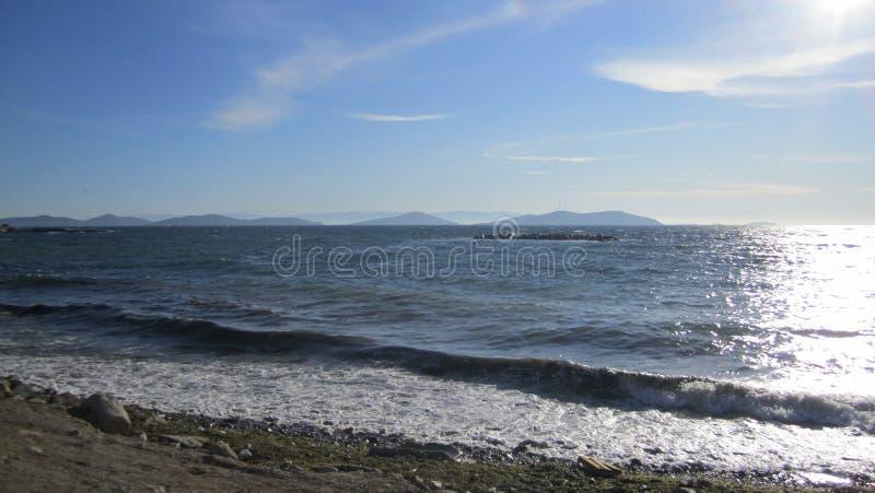 难以置信的博斯普鲁斯海峡 库存照片
