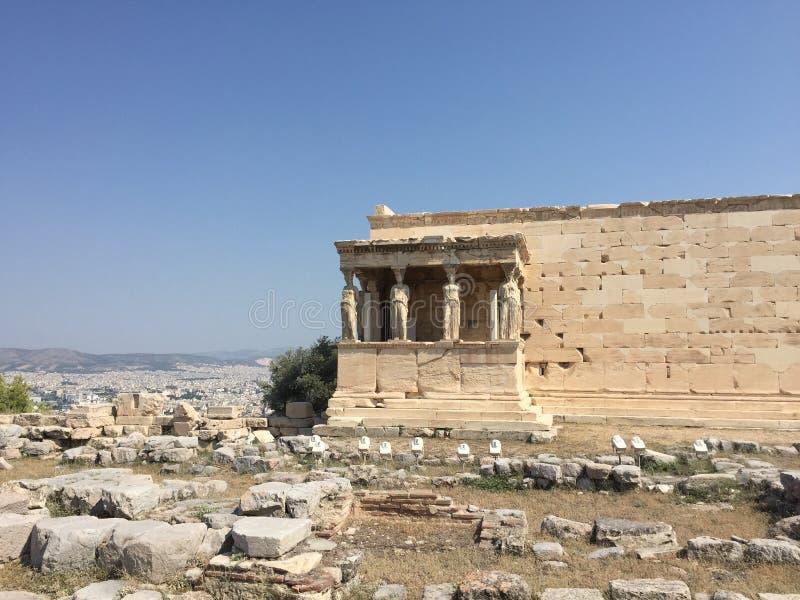 雅典娜寺庙 库存照片