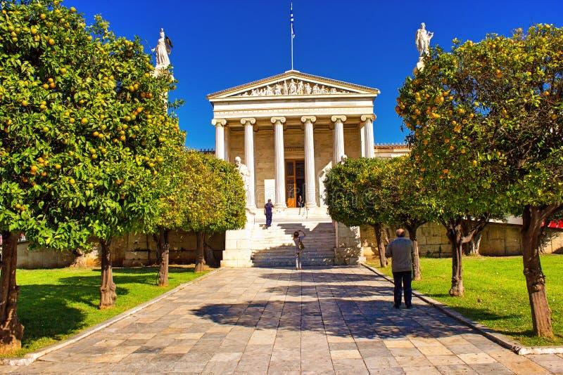 雅典学警系列在雅典,希腊 库存图片