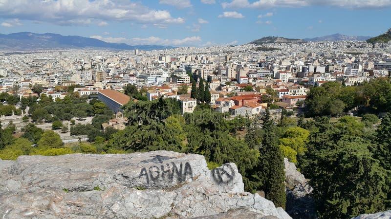 雅典希腊街道艺术 免版税库存图片