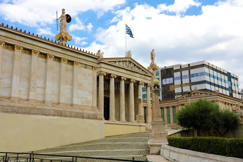 雅典,希腊学警系列  图库摄影