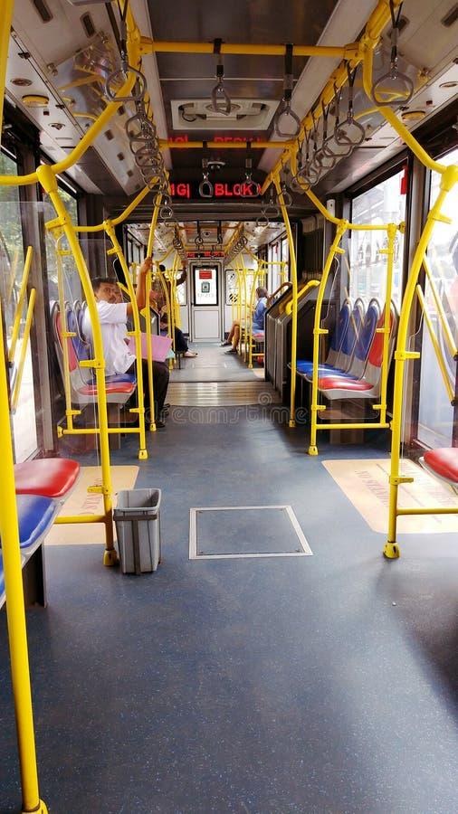 雅加达公共汽车 免版税库存照片