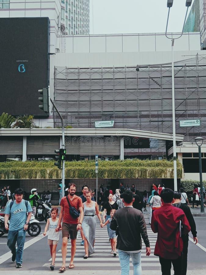 雅加达大印尼购物城 免版税库存照片