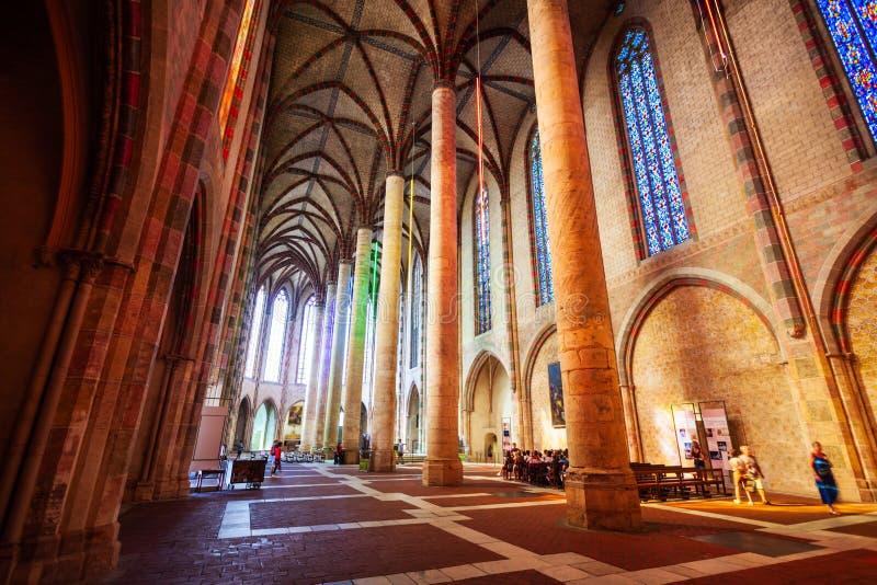 雅可宾党教会在图卢兹,法国 库存照片