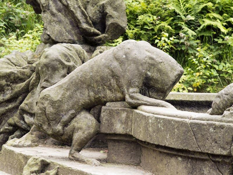 雅各布喷泉 库存照片