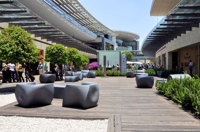 集中城市墨西哥购物 图库摄影