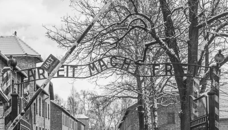 集中营 免版税图库摄影