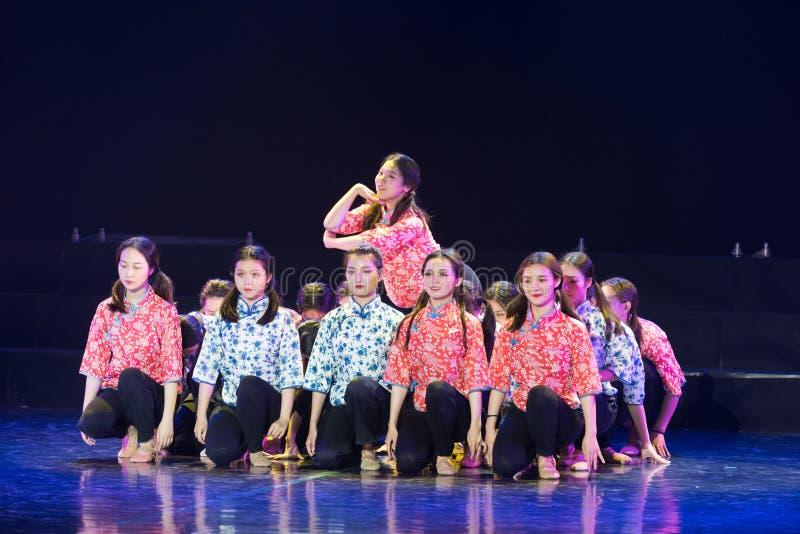 集体向心力5丁香舞蹈戏曲 免版税库存照片