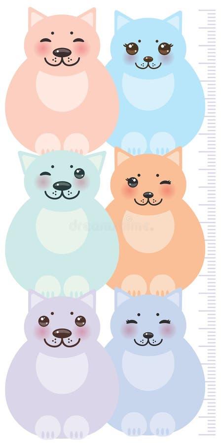Download 集合滑稽的猫,在白色的淡色 向量例证. 插画 包括有 健康, 小猫, 高度, 逗人喜爱, 人员, 长度, 童年 - 59108688