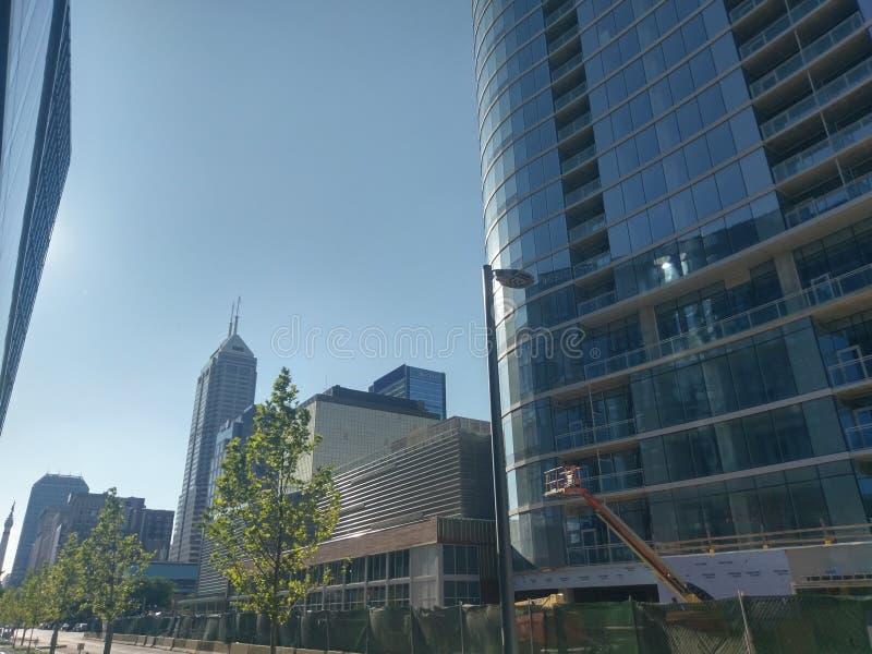 360集市广场建筑 库存图片