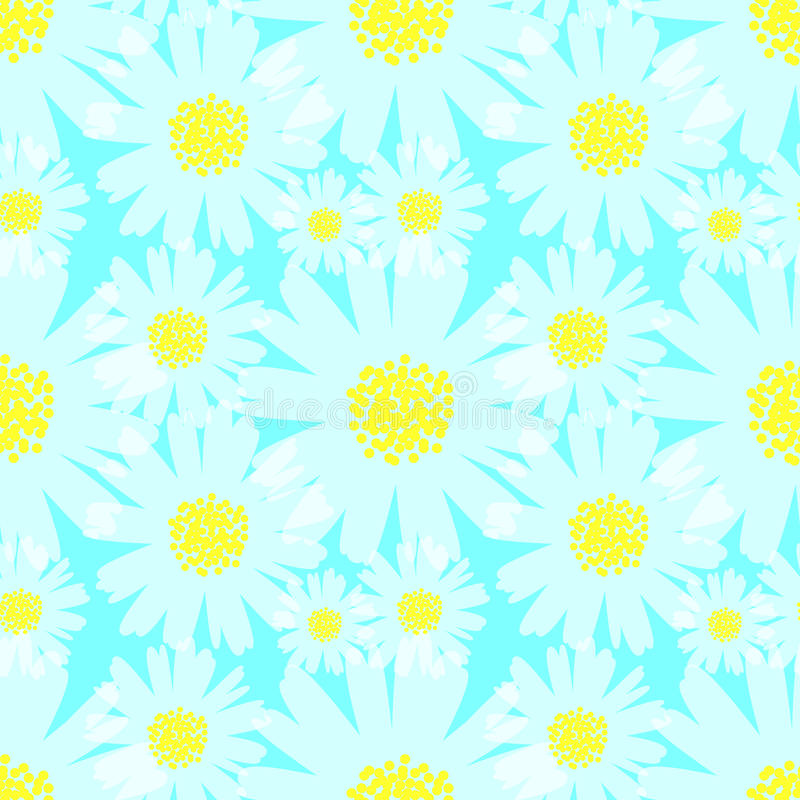 Download 雏菊背景 向量例证. 插画 包括有 花卉, 重复, 五颜六色, 例证, 春黄菊, 冷静, beautifuler - 72374166
