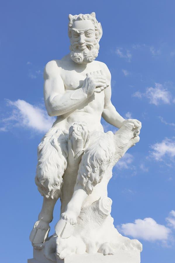 雕刻白色 图库摄影