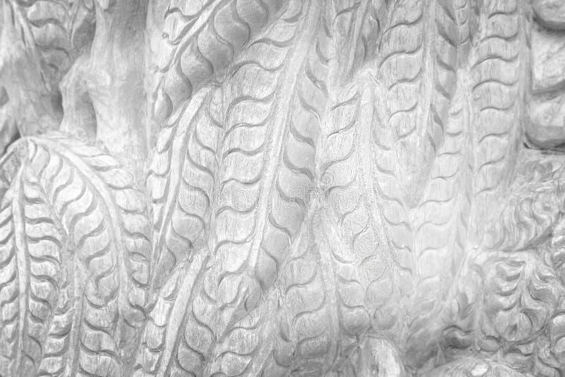 雕刻背景的棕色木样式纹理 免版税库存图片