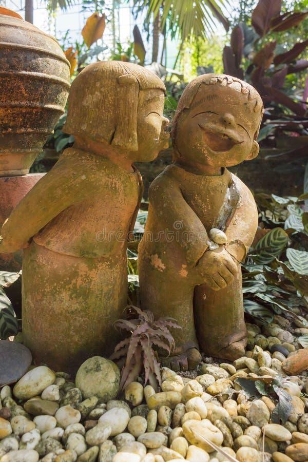 雕塑玩偶 免版税库存图片