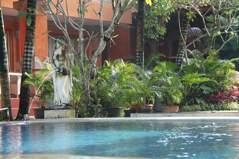 雕塑,印度尼西亚文化,版本3 免版税库存照片