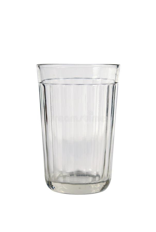 雕琢平面的玻璃 库存照片