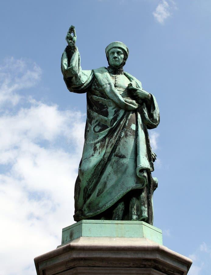 雕象在哈莱姆 免版税库存照片
