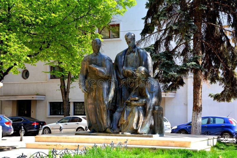 雕象在科鲁Napoca (Klausenburg) 免版税库存照片