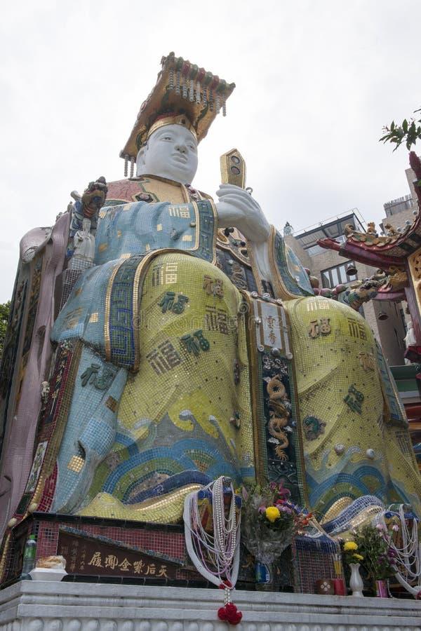 雕象在香港 库存照片