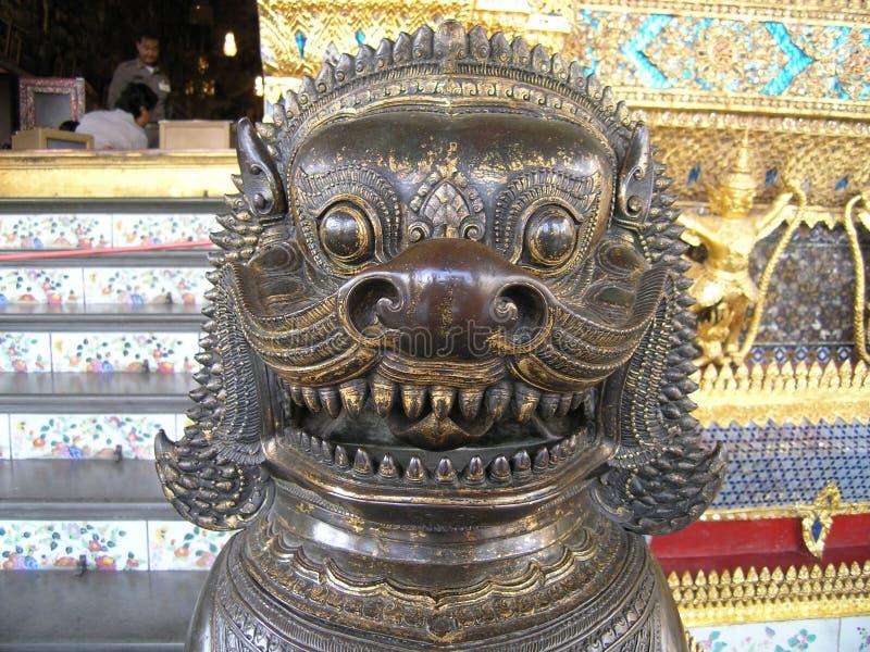 雕象泰国 免版税库存图片