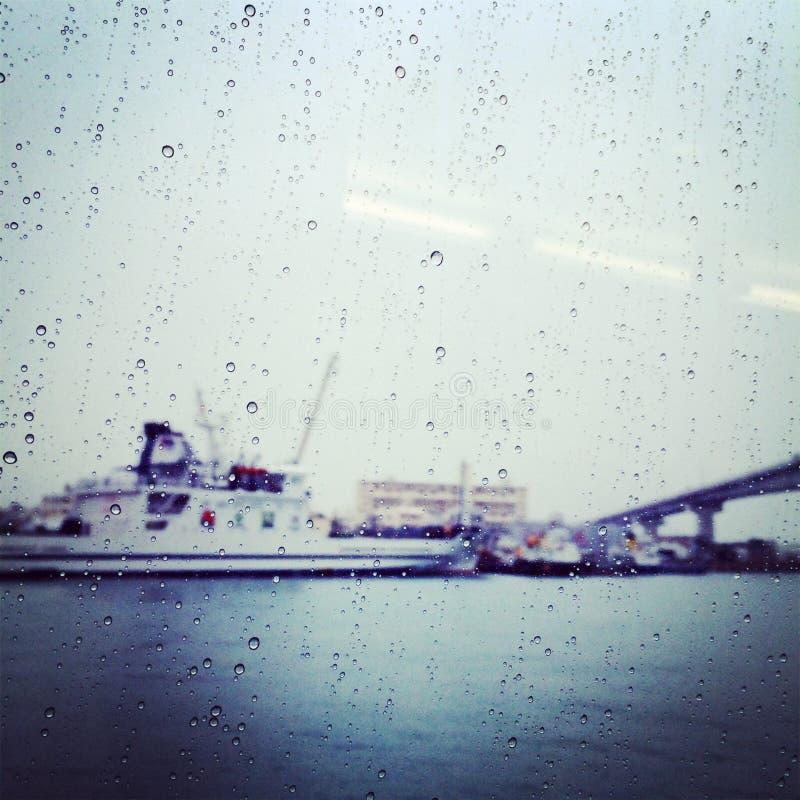雨和桥梁3 免版税图库摄影