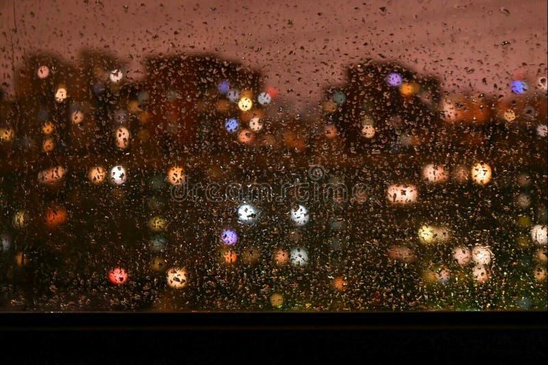 雨地点 库存照片