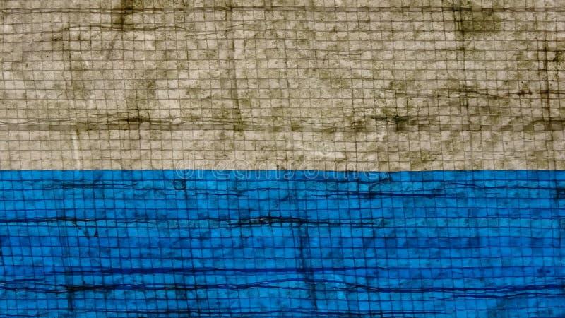 雨洗涤的黏着性纸张的纹理 库存照片