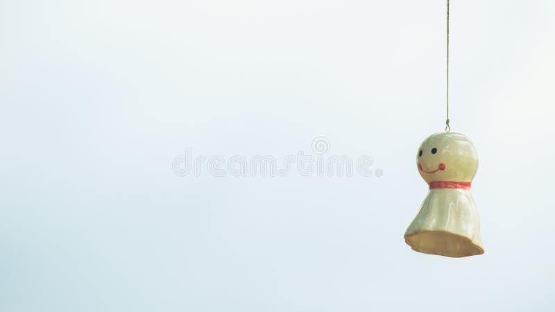 雨玩偶 库存照片