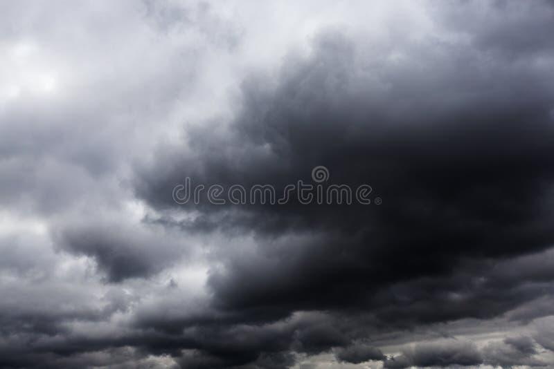 雨风暴 库存图片