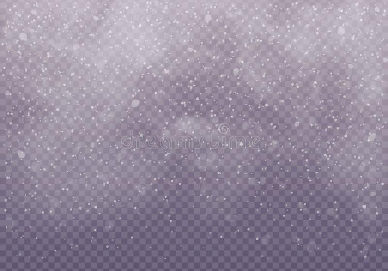 雪云彩或寿衣 向量例证
