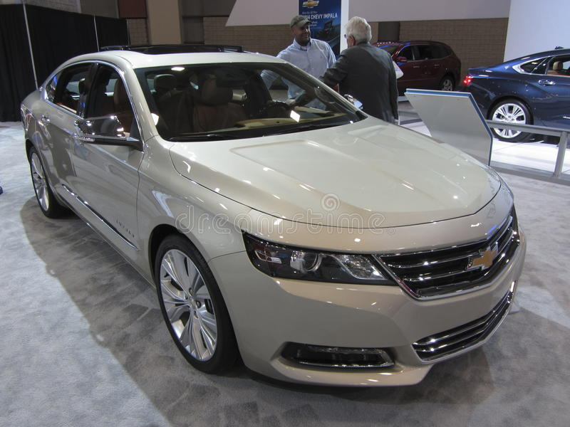 雪佛兰Impala 免版税库存照片