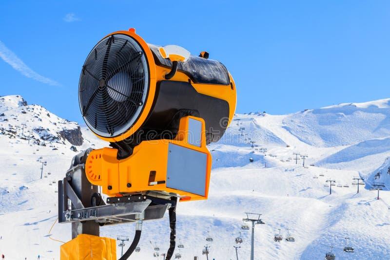 雪制造商 免版税库存图片