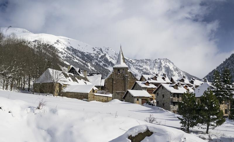 雪天堂 免版税库存图片