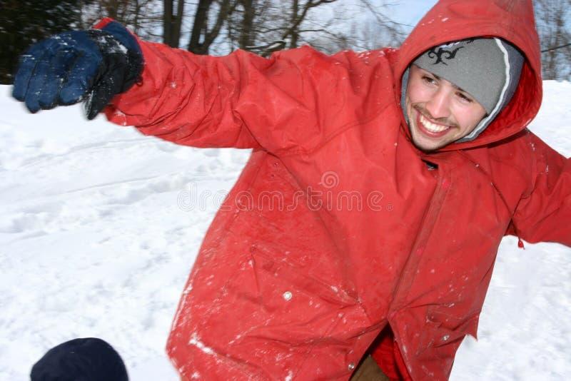 雪板运动 库存照片