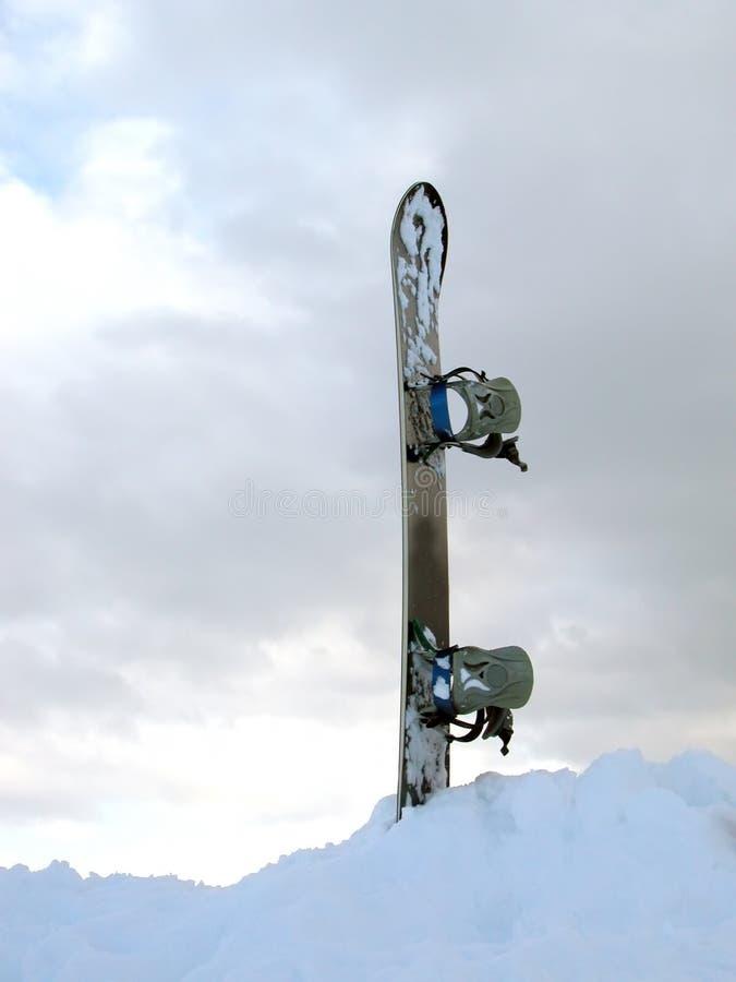 雪板 库存照片