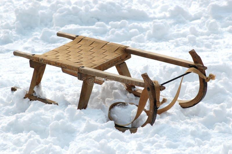 雪橇 库存照片