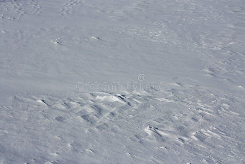 雪纹理 免版税库存图片