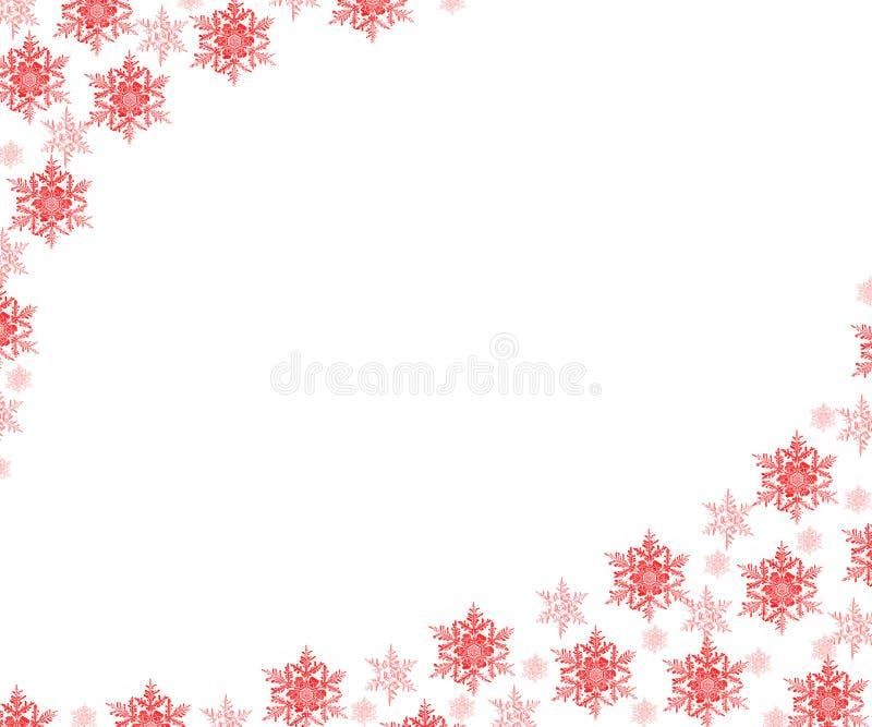 雪花。 圣诞节背景 免版税库存图片