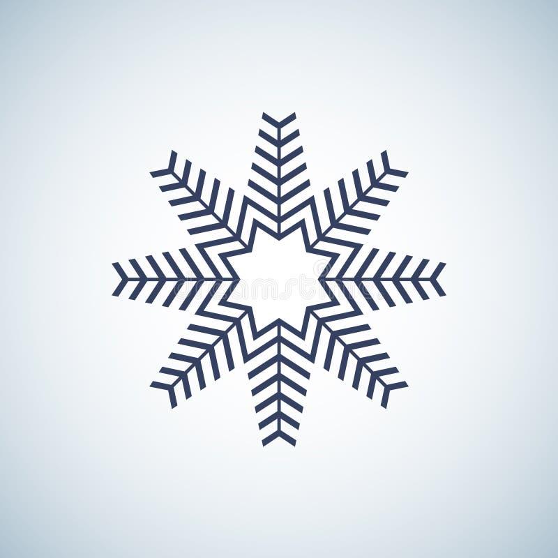 雪花象图表 雪花传染媒介 皇族释放例证