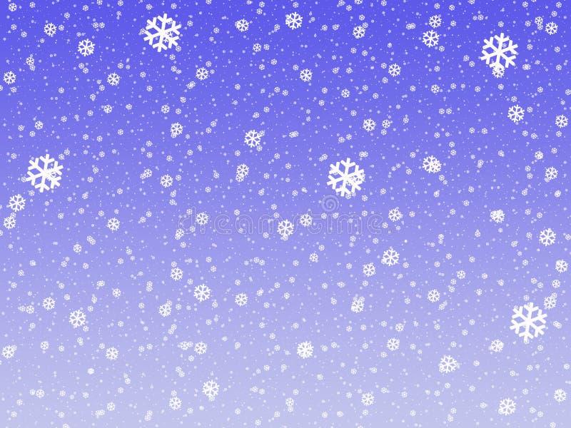 Download 雪花 库存例证. 插画 包括有 冷静, 虚拟, 蓝蓝, 降雨雪, 建筑师, 本质, 秋天, 寒冷, 冬天 - 15696888