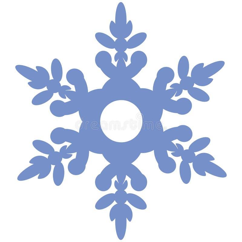 雪花02 向量例证