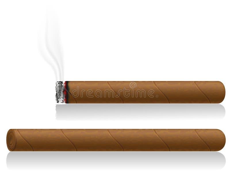 雪茄传染媒介例证 库存例证