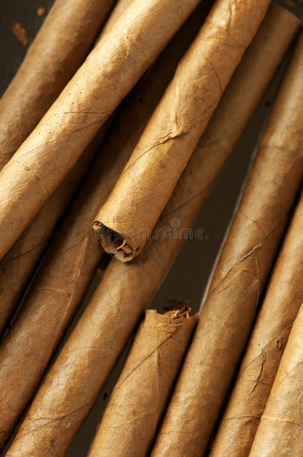雪茄堆 免版税库存照片