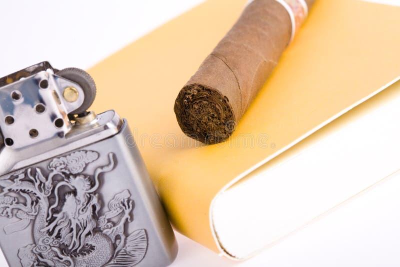 雪茄打火机 图库摄影