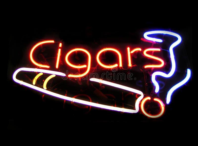 雪茄界面 免版税库存照片